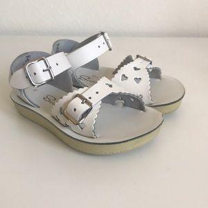 Sun-San Salt Water White Sandals